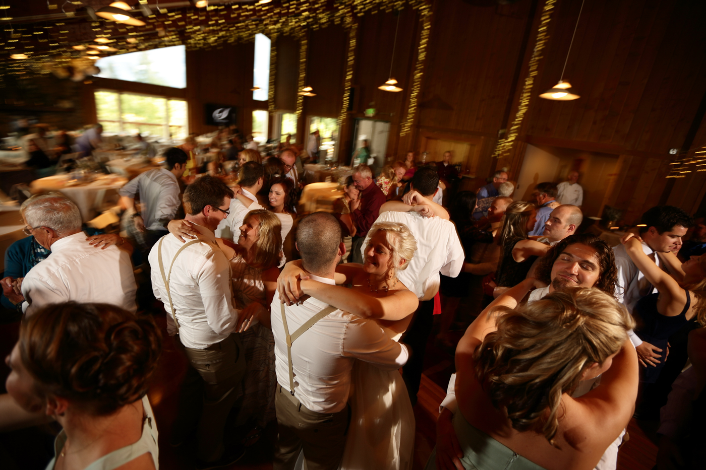 Wedding Slow Dance at Bayshore Clubhouse - Photo credit Chugach Peaks Photography